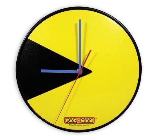 PacMan Wanduhr mit 30 cm Durchmesser Picture