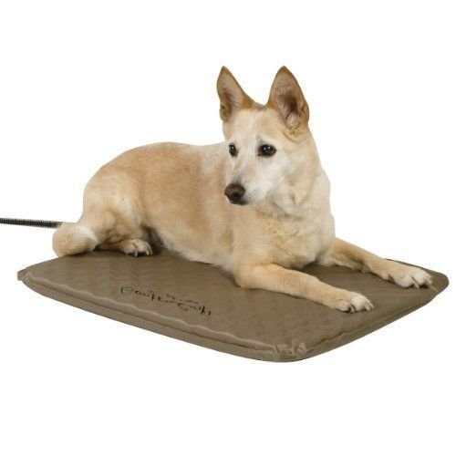 "K&H Pet Products Lectro-Kennel 16.5""X22.5""X0.5"" Pet Dog Electric Heating Bed Pad"