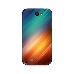 Motivatebox- Sun in the RainboW Premium Printed Case For Samsung Note 2 -Matte Polycarbonate 3D Hard case Mobile Cell Phone Protective BACK CASE COVER. Hard Shockproof Scratch-