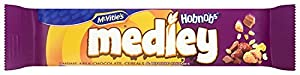 Mcvities Hobnobs Medley Raisins, Milk Chocolate, Cereals and Biscuit Chunks 40 G (pack Of 24)