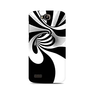 Mobicture Strange Wavy Illusion Premium Printed Case For Huawei Honor Holly