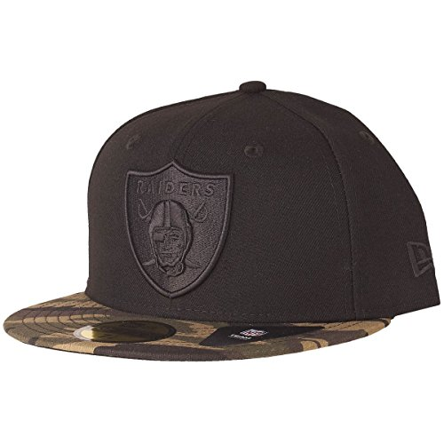 New Era Camo 9Fifty Oakland Raiders Cappellino 7 1/4 camo