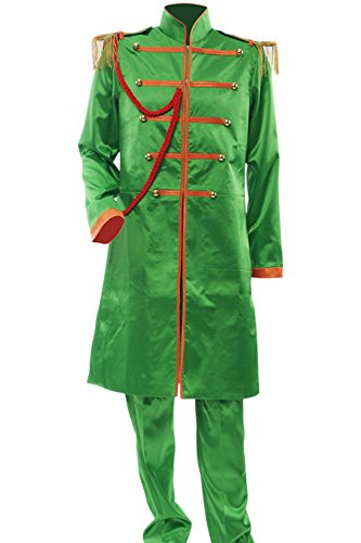 [Allten Men's Costume The Beatles John Lennon Jacket Pants M] (Sgt Pepper Paul Costume)