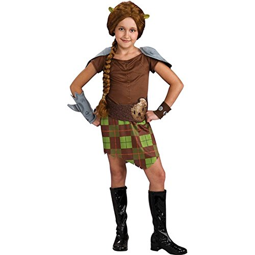 Shrek Child's Costume, Princess Fiona Warrior Costume