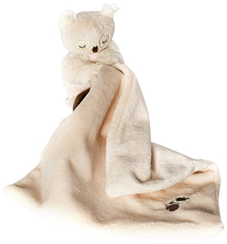 North American Bear Woodland Friends Owl with Blanket
