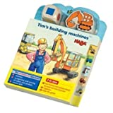 Haba Tim's Building Machines Picture Book & Puzzles