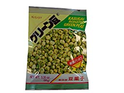 Kasugai Roasted Green Peas, 3.35-Ounce Packages (Pack of 20)