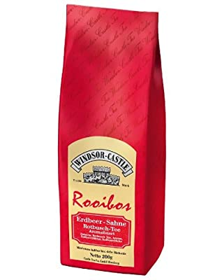 Windsor-Castle Rooibos Tee Erdbeer-Sahne, Tüte, 200 g von Castle Tea Co. GmbH bei Gewürze Shop