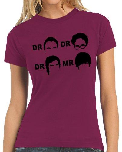 Touchlines Damen T-Shirt Dr. Dr. Dr. Mr.  Women's, sorbet, XS, B100513LT