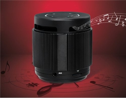 Dogo Dg880 Bluetooth Wireless Speaker With Hands-Free Call, Card Reader, Fm Radio & Subwoofer (Black)
