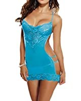 Jewelry_Awesome Femme Sexy Nuisette Lingerie Ensemble Robe de Nuit String Dentelle