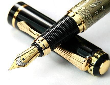 regalo-superior-medio-caballo-plumin-pluma-estilografica-de-oro-chino