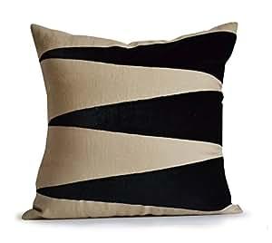 Throw Pillow Covers 26x26 : Amazon.com: Decorative Throw Pillow Cover Applique Velvet Euro Sham Pillow Case Designer Cushion ...