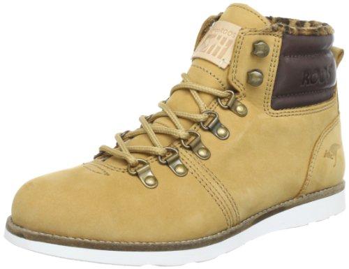 KangaROOS St.Moritz-Leo Chukka Boots Womens Beige Beige (wheat/chocolate) Size: 6.5 (40 EU)