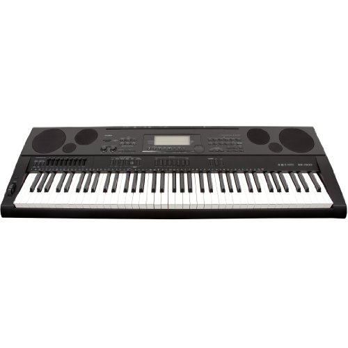 Casio WK6500 76 Key Touch Sensitive Workstation Keyboard