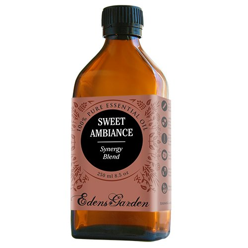 Sweet Ambiance Synergy Blend Essential Oil by Edens Garden (Lemon, Lime, Orange, Peru Balsam and Ylang Ylang)- 250 ml