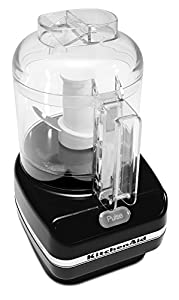 KitchenAid KFC3100OB Mini Chef Chopper, Onyx Black