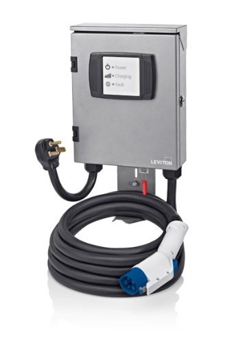 Evr-Green 320 Level 2, 32A, 240V Electric Vehicle Charging Station, 7.7kW output, cord-connected, EVB32