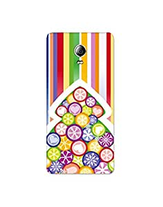 lenovo p1 turbo ht003 (142) Mobile Case by Mott2 - Colorful Bamboo (Limited Time Offers,Please Check the Details Below)