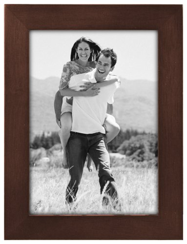 Malden Linear Wood 5-by-7-Inch Picture Frame,