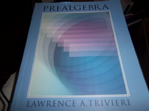 Prealgebra: An Integrated Approach PDF