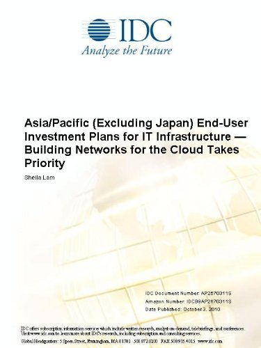Asia/Pacific (Excluding Japan) End-User Investment Plans for IT Infrastructure  Building Networks for the Cloud Takes Priority