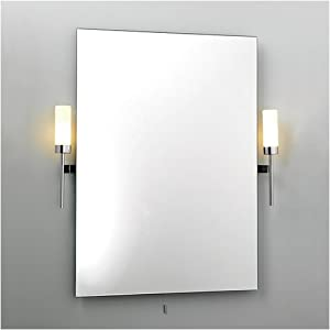 astro lighting tendo ip44 bathroom mirror with side lights lighting. Black Bedroom Furniture Sets. Home Design Ideas