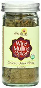 Esutras Organics Wine Mulling Spice, 2 Ounce
