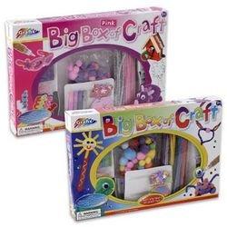 Big Box Of Craft Activity Set - Pink - 1