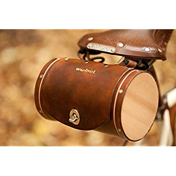 Walnut Studiolo Bicycle Seat Saddle Barrel Bag