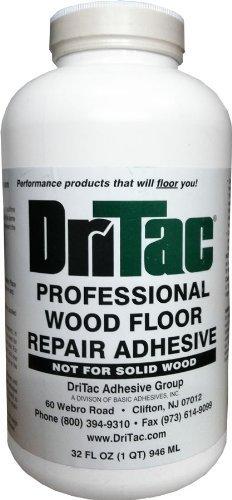 Dritac 32 Fl Oz Professional Wood Floor Repair Adhesive