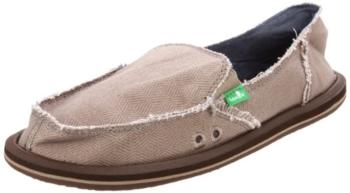 Sanuk Women's Plain Jane II Slip-On,Taupe,7 M US