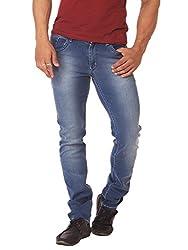 RACE-Q Blue Washed Jeans for Men