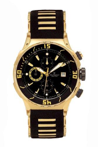 Jules Jurgensen Men's Chronograph Watch #5000YG - Buy Jules Jurgensen Men's Chronograph Watch #5000YG - Purchase Jules Jurgensen Men's Chronograph Watch #5000YG (Jules Jurgensen, Jewelry, Categories, Watches, Men's Watches, Sport Watches, Rubber Banded)