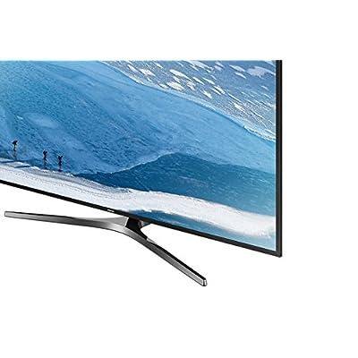 Samsung 124 cm (49 inches) UA49KU6470UMXL-SF 4K Ultra HD LED TV (Dark Black)