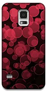 The Racoon Grip Red Bubbles hard plastic printed back case / cover for Samsung Galaxy S5