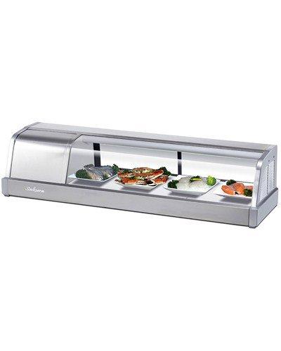 "Turbo Air Sakura-50 Countertop Refrigerated Display Case 1.49 Cu. Ft., 48-3/4""W front-613525"
