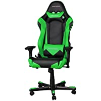 DX Racer Racing Series Gaming Chair - Green and Black - OH/RE0/NE