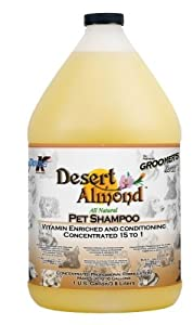 "Brand New DOUBLE K INDUSTRIES - GROOMERS EDGE DESERT ALMOND SHAMPOO (1 GALLON) ""DOG PRODUCTS - DOG GROOMING - SHAMPOOS & SOAP"""