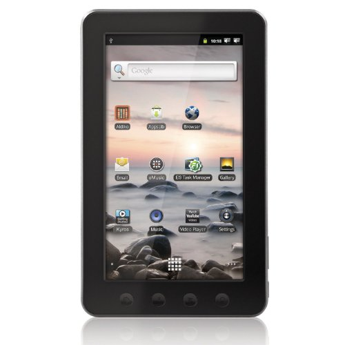 Coby Kyros 7-Inch�Android 2.3 4 GB Internet Touchscreen Tablet - MID7012-4G (Black)