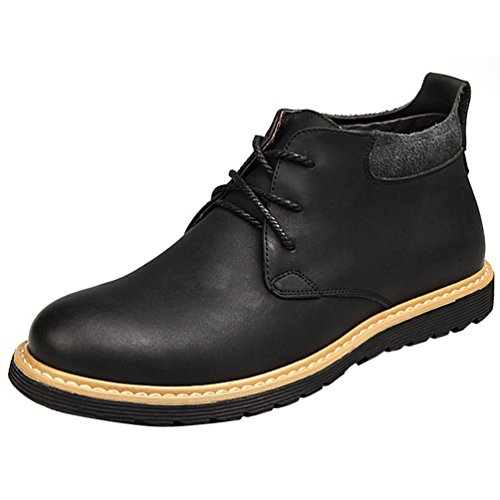 Passionow-Mens-Casual-Work-Lace-up-Leather-Chukka-Boots