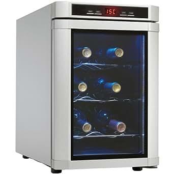 Danby DWC620PL-SC 6 Bottle Wine Cooler - Platinum