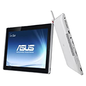 Asus EeeSlate EP121-1A013M 30,1 cm (12,1 Zoll) Tablet-PC (Intel Core i5 470UM, 1,3GHz, 4GB RAM, 64GB SSD, Intel GMA 4500 HD, Win7 HP) weiß