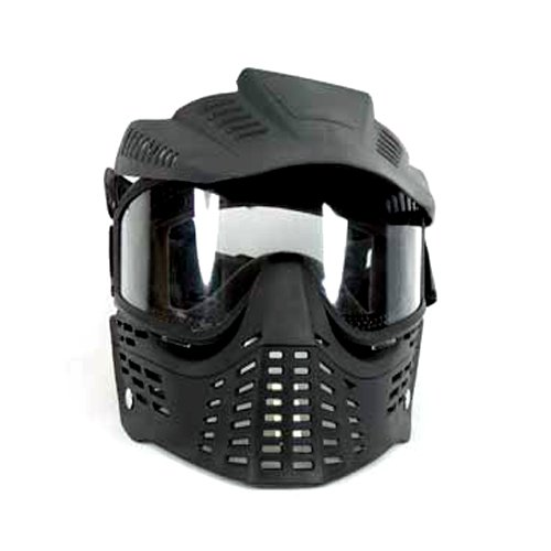Airsoft Safety Full Face and Ear Mask  Removeable