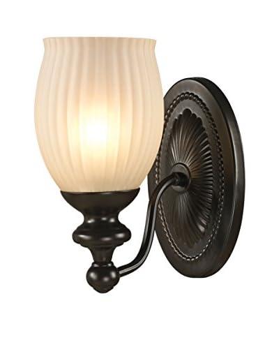 Artistic Lighting Park Ridge 1-Light LED Sconce, Oil Rubbed Bronze