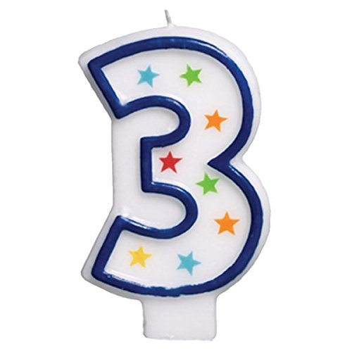 Amscan Birthday Candle #3