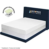 "Hot Sale 8"" Memory Foam Mattress & New Innovative Box Spring Set Full Size"