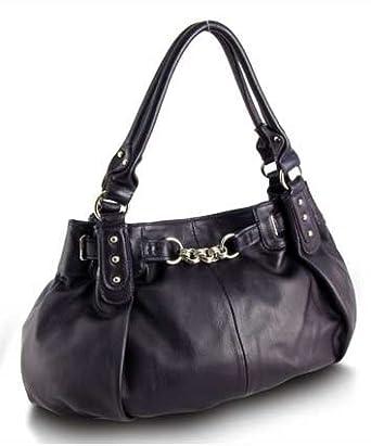 Large Slouchy Hobo Handbag (Purple-old)