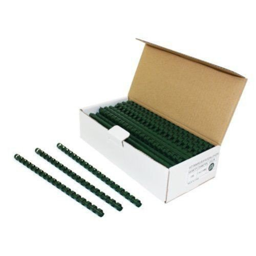 7/16 Hunter Green Plastic Binding Combs - 100pk MyBinding PC716FG Hunter Green 7 16