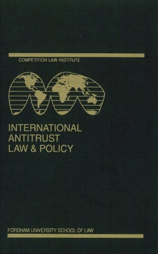 International Antitrust Law and Policy: Fordham Competition Law 2014